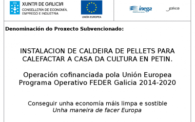 INSTALACION DE CALDEIRA DE PELLETS
