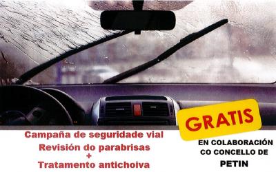 Campaña Seguridad Vial , Revisión do parabrisas