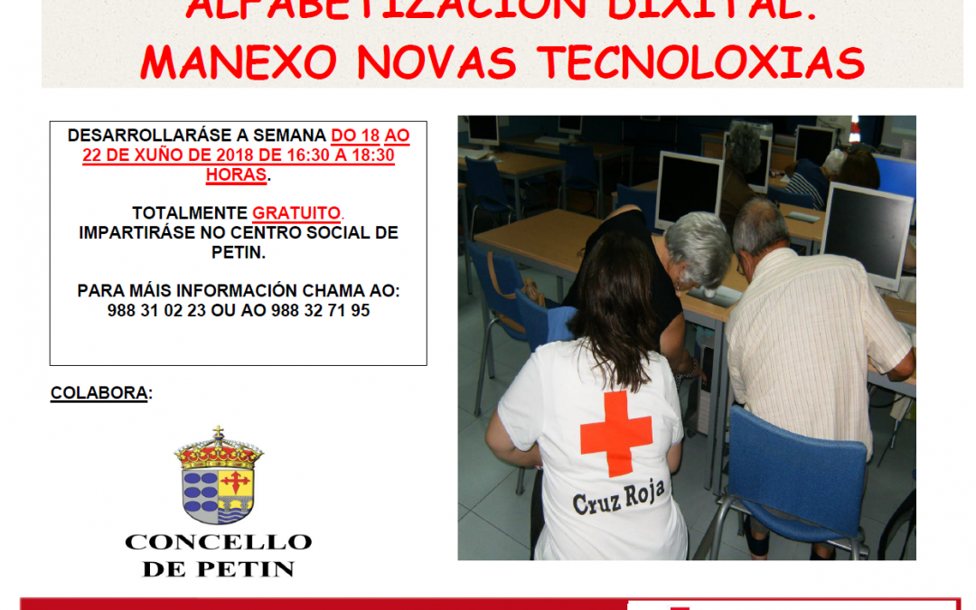 ALFABETIZACIÓN DIXITAL. MANEXO NOVAS TECNOLOXÍAS