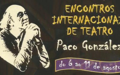 ENCUENTROS INTERNACIONALES DE TEATRO DEL 6 AL 11 DE AGOSTO