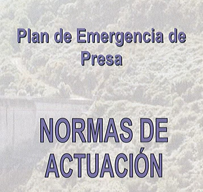 PLAN DE EMERXENCIA DE PRESA. PRESA DE SANTA EULALIA
