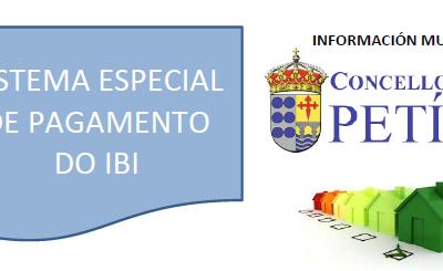 SISTEMA ESPECIAL DE PAGAMENTO DO IBI 2019