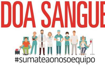 CAMPAÑA DONACIÓN DE SANGRE. UNIDAD MÓVIL MIÉRCOLES 22 DE MAYO PLAZA DOCTOR QUIROGA DE PETÍN